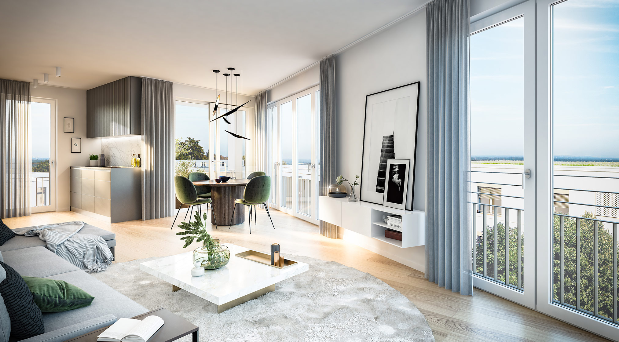 Immobilie Alexisquartier - Das Duett - Projektdetails - Illustration 5