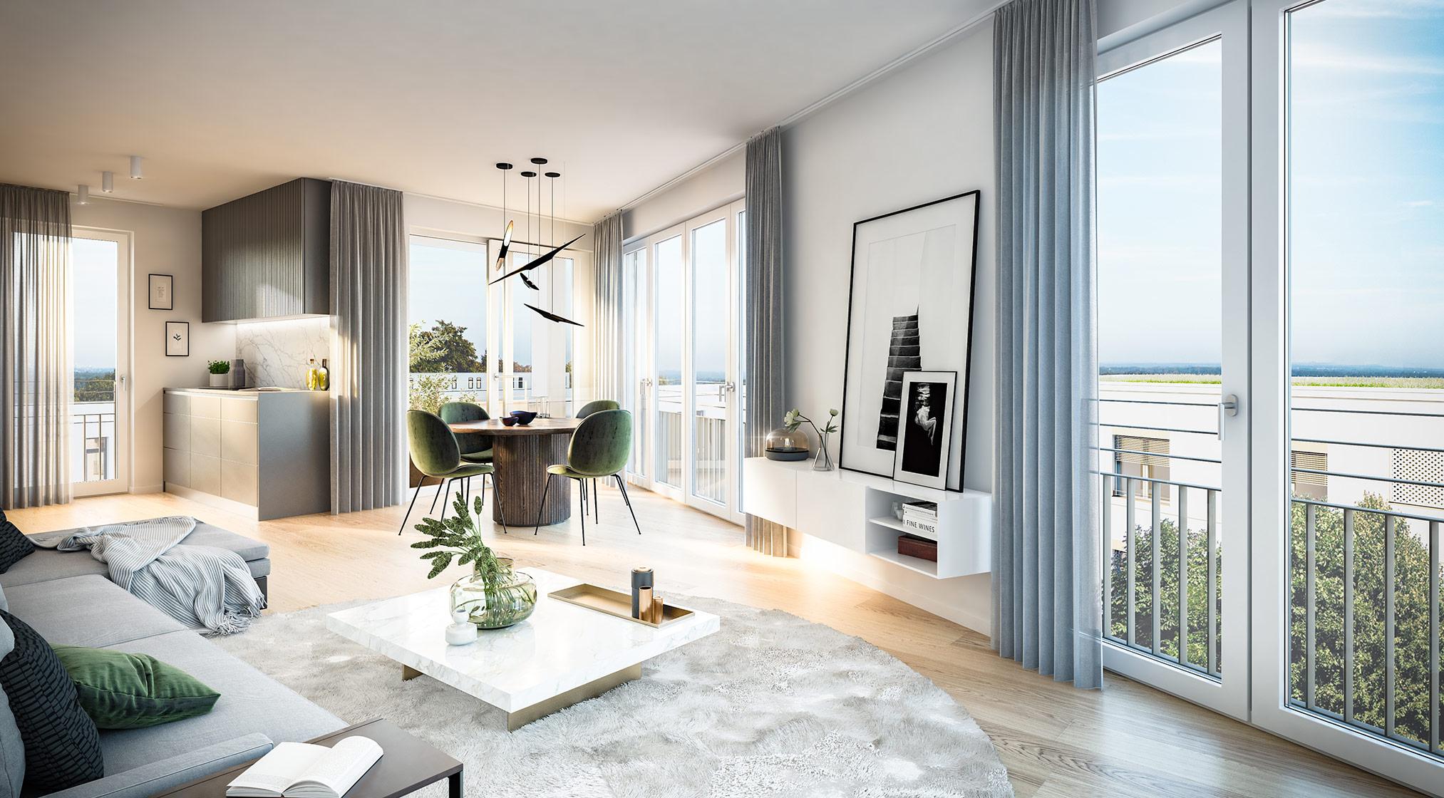 Condominiums Alexisquartier - Das Duett - Project details - illustration 5