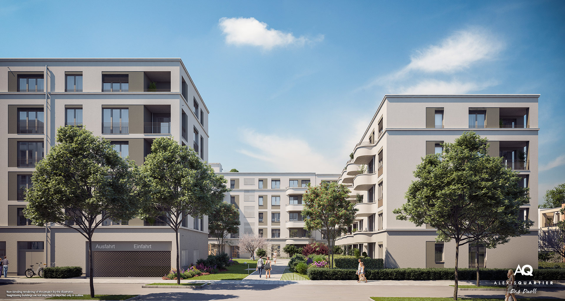 Condominiums Munich: Slider - Das Duett