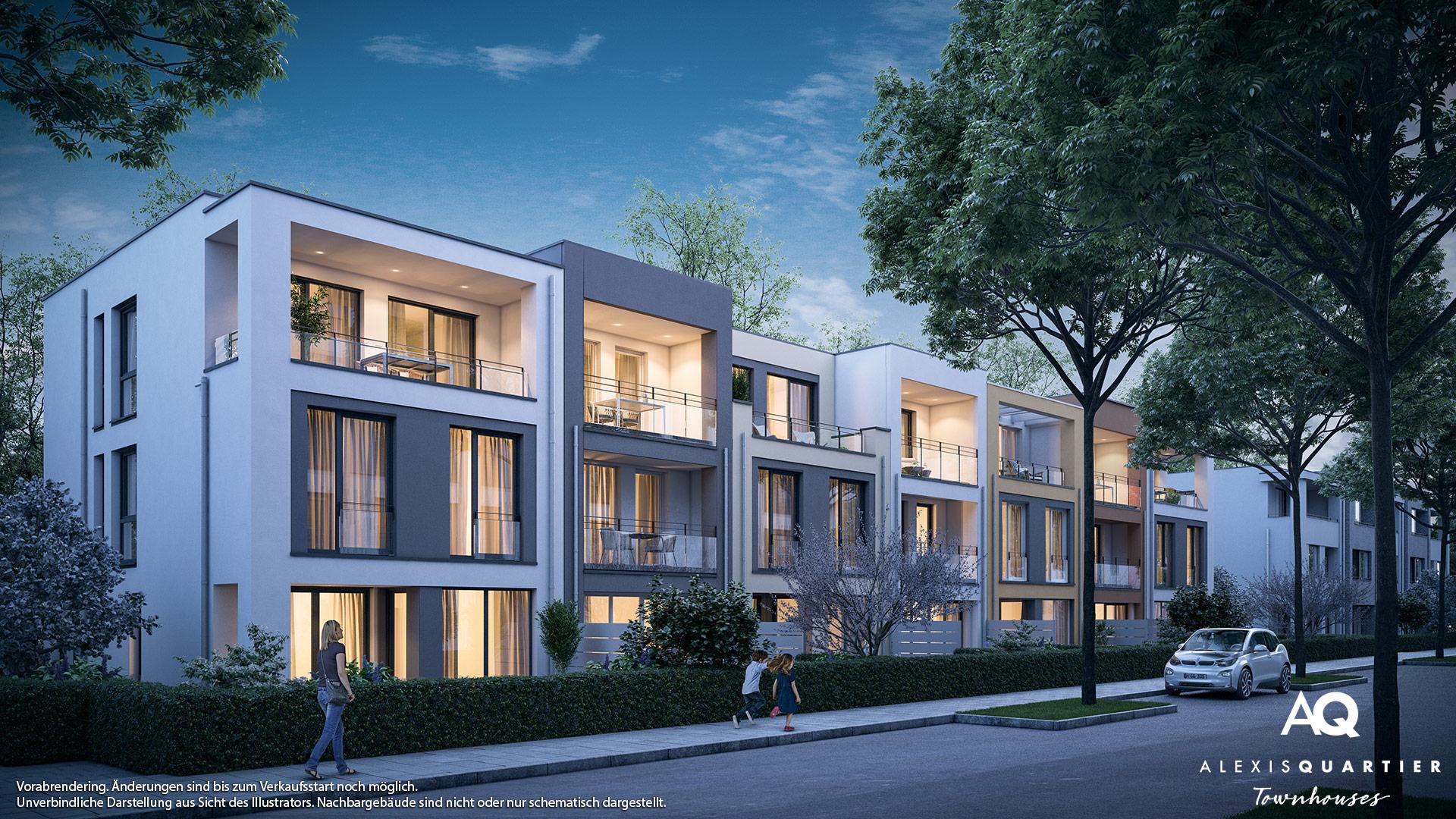 Immobilie Alexisquartier - Townhouses - Vorankündigung - Illustration 2
