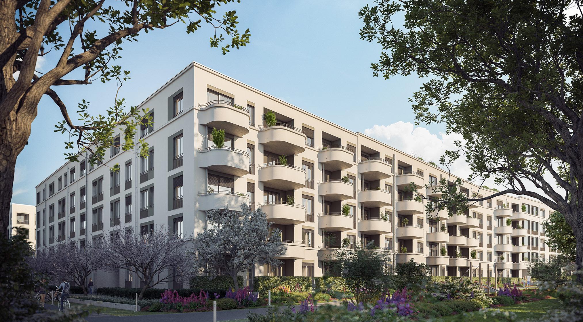 Condominiums Alexisquartier - Das Duett - Project details - illustration 1
